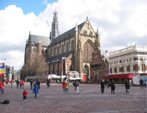 Grote Markt and cathedral