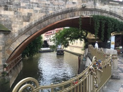 Canal near Charles Bridge