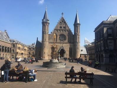 Square by the Binnenhof