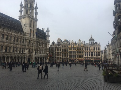 Square in Brussels