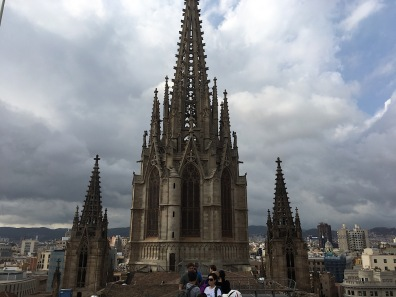 Top of the cathedral