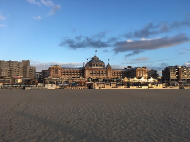 Kurhaus from the beach