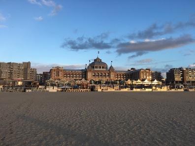 Kurhaus from the beach