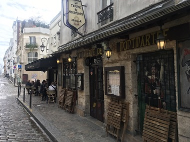 Cafe in Montmartre