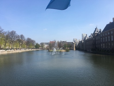 Lake behind the Binnenhof