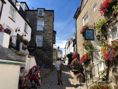 Narrow street in St Ives