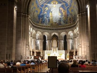 Inside Sacré Coeur