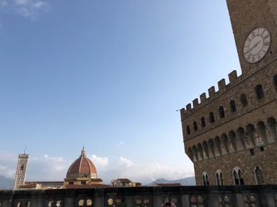 View from the Uffizi Cafe