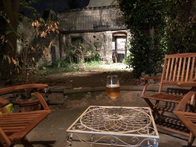 Nightcap in the garden