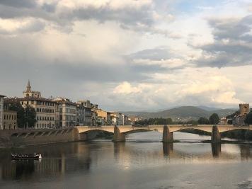 Along the Arno