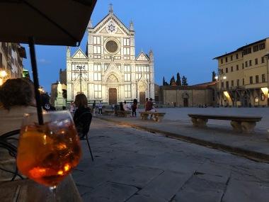 Spritz at Santa Croce